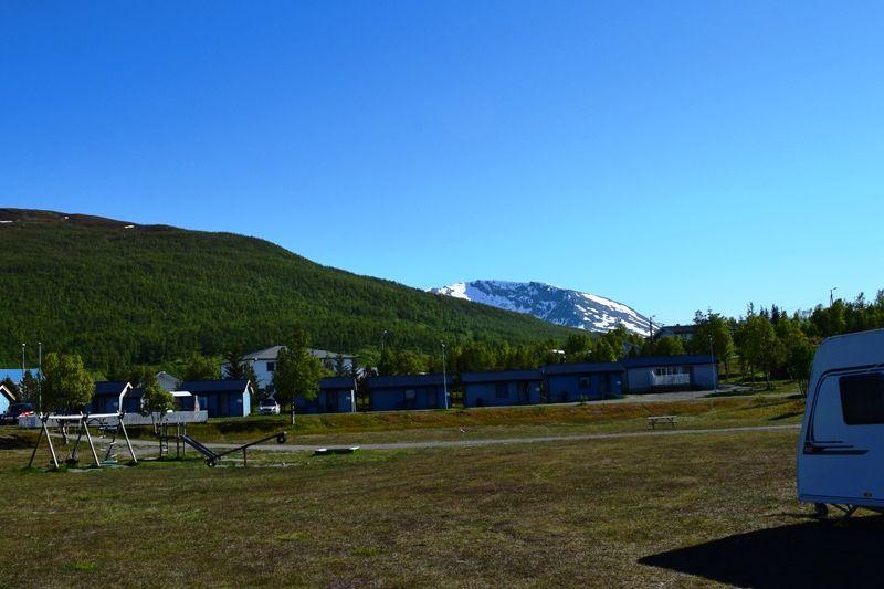 Skittenelv Camping speeltuin en hytter