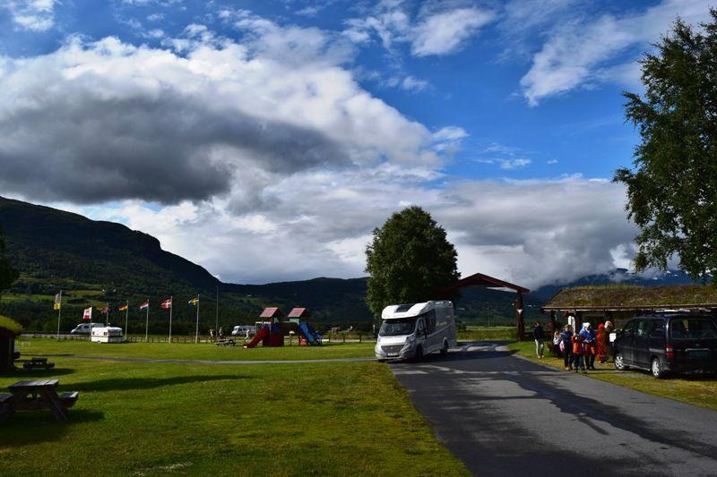 Smegarden Camping Oppdal entree