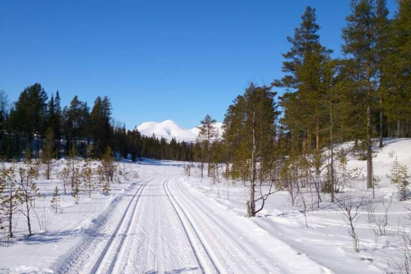 Solenstua Camping winter