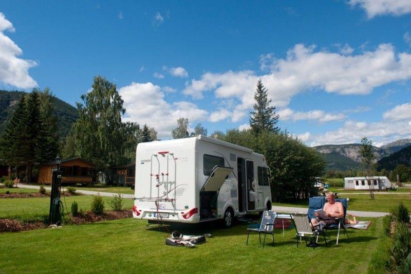 Solvgarden Hotell og Feriesenter Comfort kampeerplaatsen