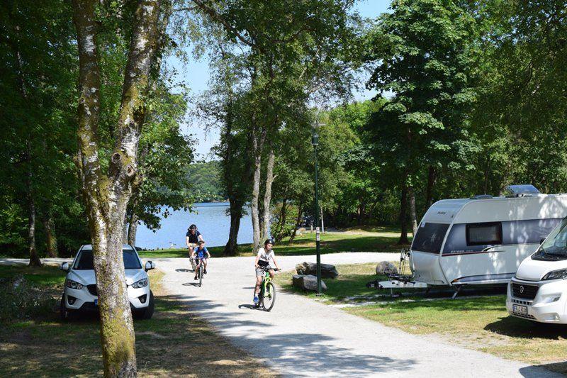 Stavanger Camping ligging aan het meer
