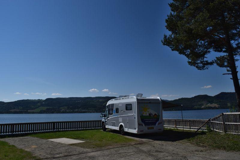 Steinvik Camping Moelv Kampeerplaatsen