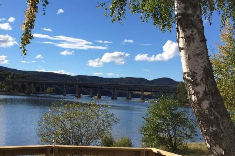 Storenga Camping Minnesund uitzicht