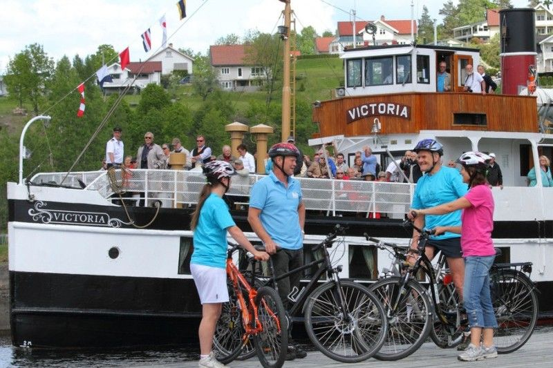 Telemark Kanalcamping fietsen te huur