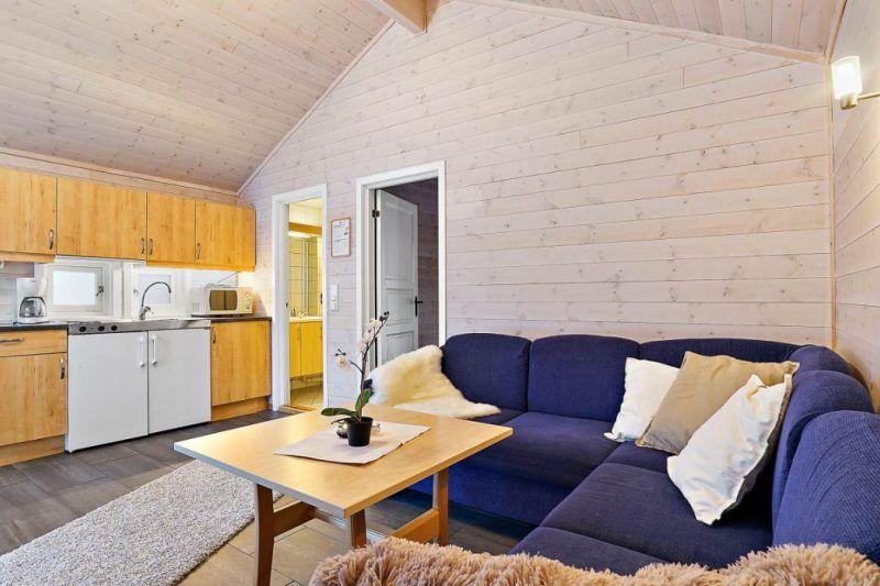 Tromso Lodge og Camping mooi ingerichte hytter