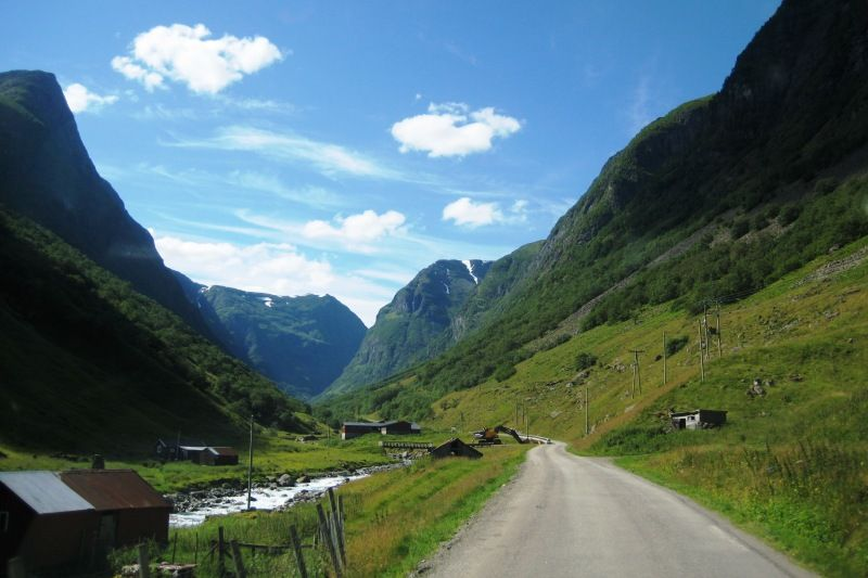 Undredal Camping omgeving