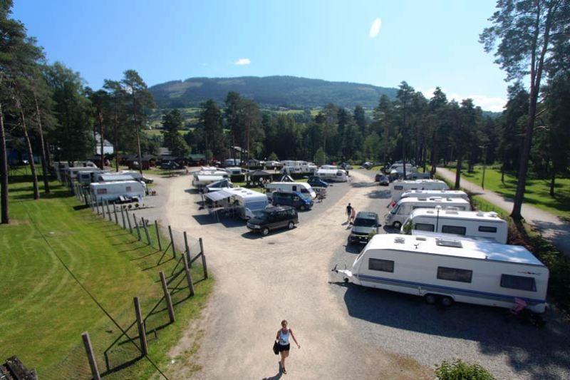 Voss Camping kampeerplaatsen